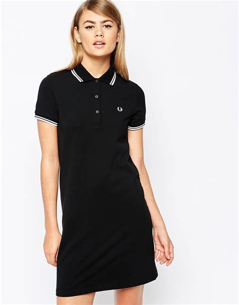 Dress Polo Polos Aic lyst fred perry winehouse collection polo shirt in black