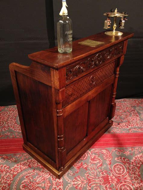 comptoir bar ancien ancien comptoir caisse bois de ch 226 taignier bar meuble