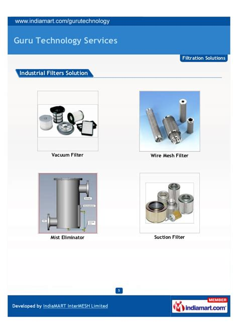 filtration solutions and services for guru technology services vadodara filtration solutions