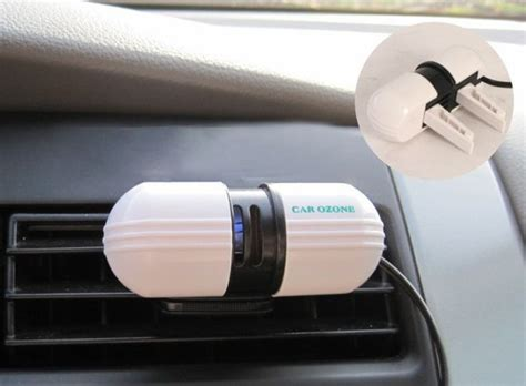 practical applied car ozone ionizer generator vehicle air purifier brand ebay