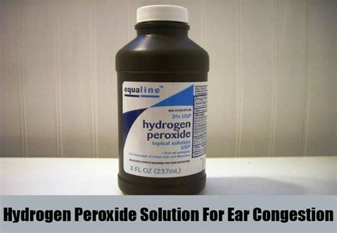 ear infection home remedy peroxide how to get rid of ear wax with hydrogen peroxide html autos weblog