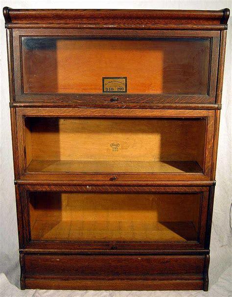 Macey Barrister Bookcase Value oak furniture antique stacking barrister bookcase globe wern