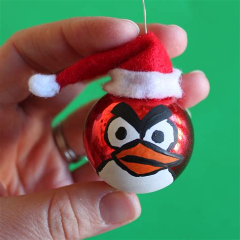 angry birds christmas ornaments dollar store crafts