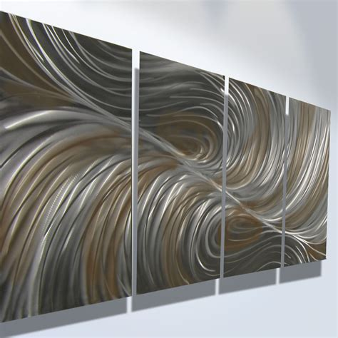 abstract metal wall echo bronze abstract metal wall contemporary modern decor 183 inspiring gallery 183