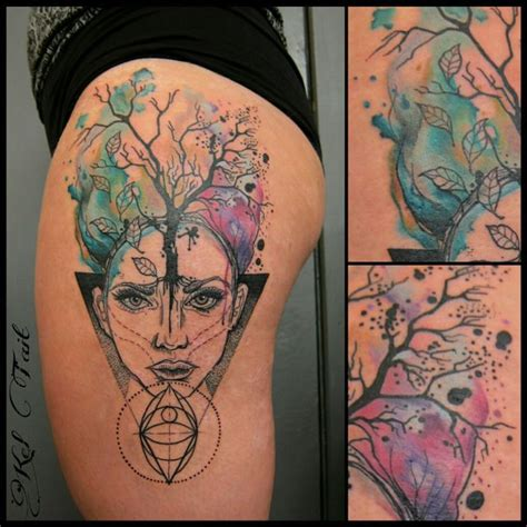 watercolor tattoos melbourne mel kel third eye ink third eye