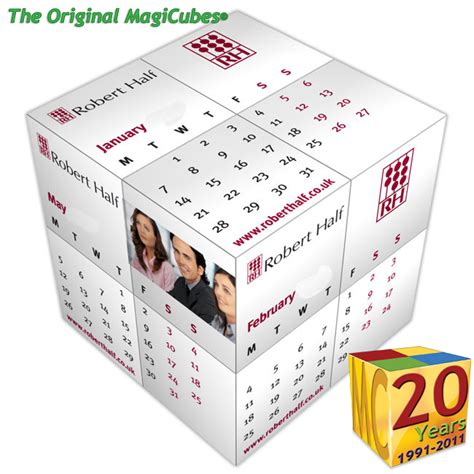 cube calendar template lumpy mail experts use the dimensional magic calendar cube