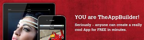 build a mobile app for free theappbuilder build a free mobile app for your church
