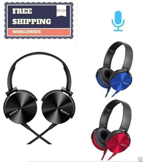 Headset Stereo Sony Mdr Xb450ap sony mdr xb450ap bass smartphone headset stereo