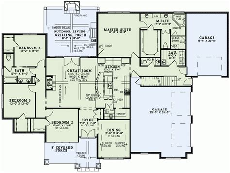 house plan 20003 at familyhomeplans com inspirational european home floor plans new home plans