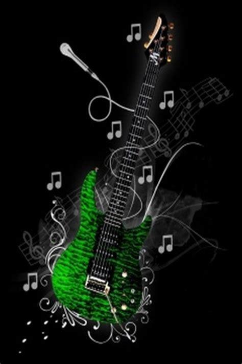 wallpaper green guitar green music guitar mobile wallpaper focal wallpapers