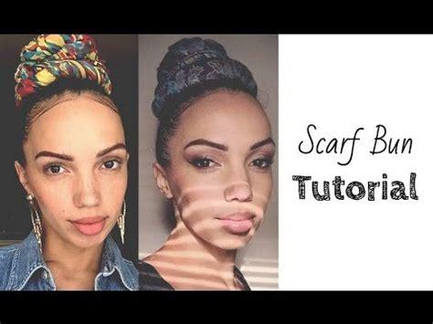 turban bun tutorial 20 best hairspiration turban video s images on
