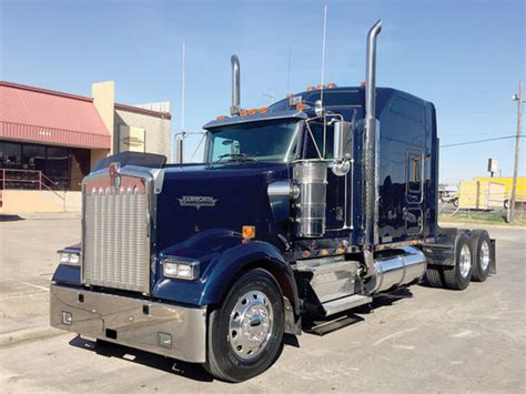 used kenworth for sale in texas kenworth w900l conventional trucks in texas for sale 122