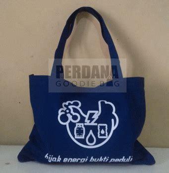 Tas Totebag Kanvas Garis Biru tote bag kanvas dipadukan motif batik perdana goodie bag