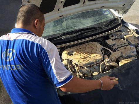hyundai technician hyundai offers relief to customers in flood stricken areas