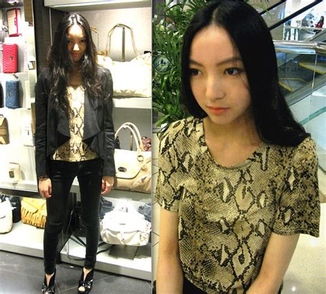 Korean Blazer Bangkok by Erika Korea Drape Silk Blazer Bangkok Snake Print