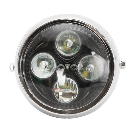Led Motorcycle Headl 6 5 quot retro led motorcycle light l for kawasaki vulcan classic custom 900 ebay