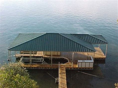 how to build a boat dock roof how to build a boat dock 171 it s buildable