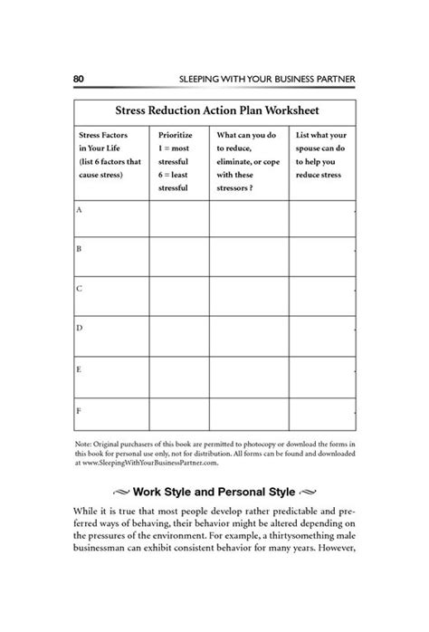 Anxiety Worksheet by Stress Management Worksheets And Stress On