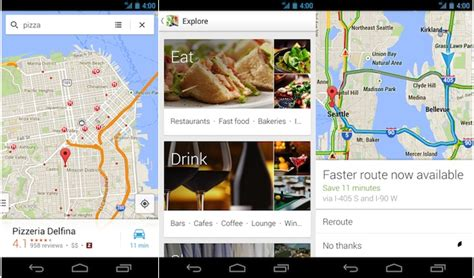 google maps update  android bring   ui enhanced