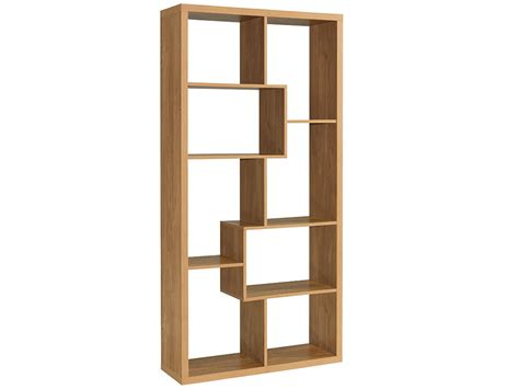 Room Divider With Shelves by Oak Finish Wood Shelving Bookcase Book Shelf Storage Unit Display Room Dividers Ebay