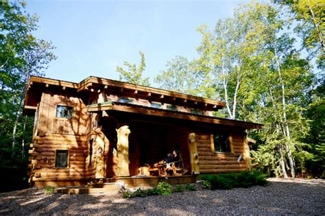 Hewn Log Cabin by Cabin Amazing Door County Hewn Log