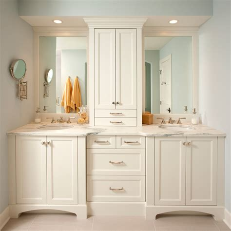 bathroom tower cabinet white with traditional bathroom