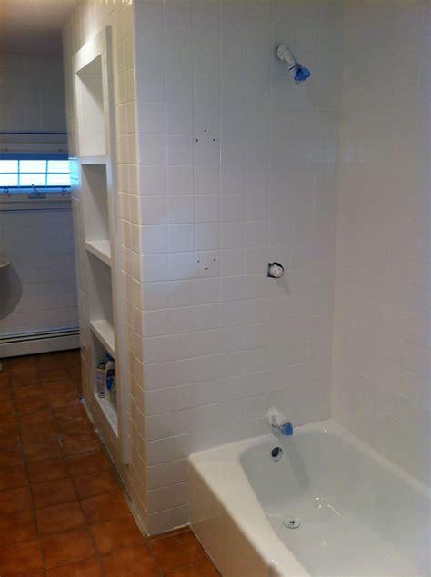 bathroom tile refinishing complete bathroom wall tile refinishing tub reglzaing