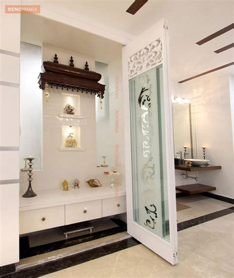 marble flooring  pujaroom pooja roomdecorations