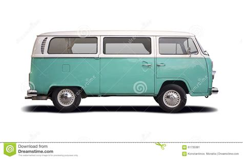 volkswagen minibus side view vw t2 cer stock photo image 61735381
