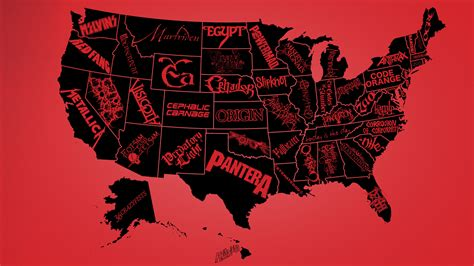 best metal bands are these the best metal bands of every us state
