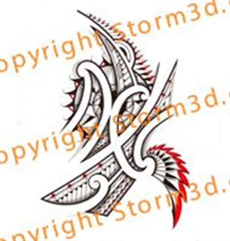 storm 3d tattoo designs 1000 images about mixed tribal flash designs by