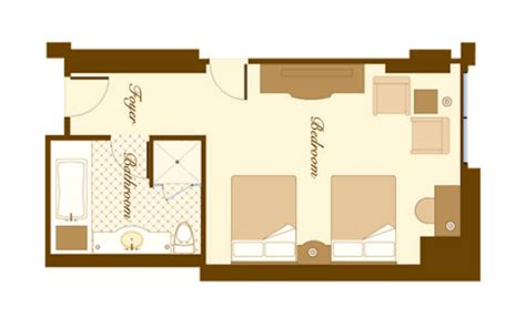 bellagio floor plan bellagio rooms suites