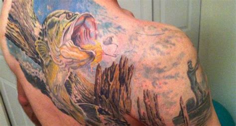 30 tattoos for die hard fishermen