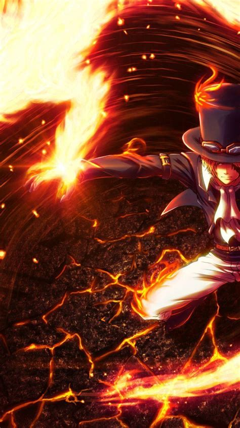 wallpaper iphone one piece hd one piece sabo wallpapers wallpaper cave