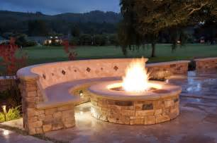 Backyard Firepits Backyard Patio Ideas With Fire Pit Landscaping