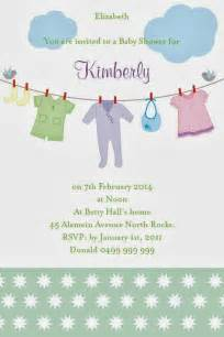 baby shower invitations via email xyz