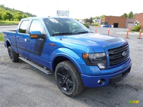 2014 ford f150 4x4 2014 blue ford f150 fx4 supercrew 4x4 95042541