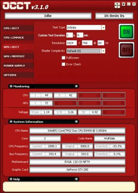 cpu stress test occt 3 1 available with an improved gpu stress test geeks3d