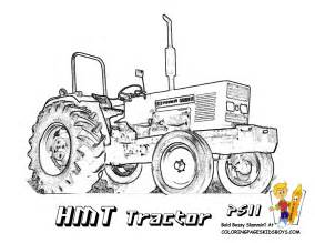 Tractor Coloring Pages To Print  Free Farm Tractors sketch template