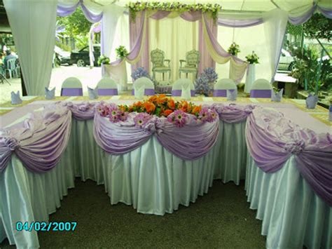 Kilana Set kilana canopy meja pengantin