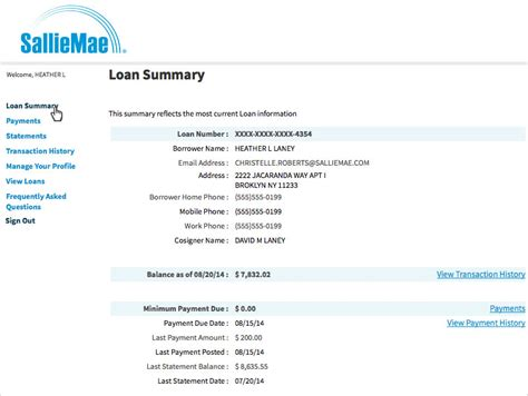 Loan Verification Letter Sallie Mae Student Loan Payment Amount Estimator