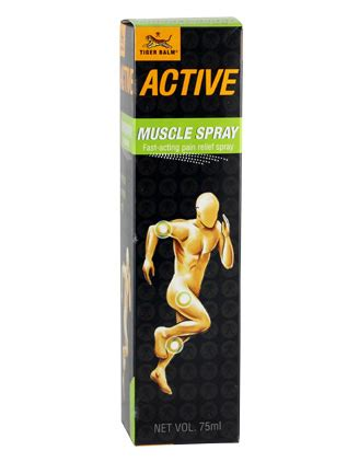Tiger Balm Active Gel Cool aches nhg pharmacy