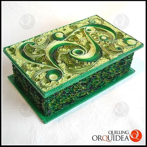 paper quilling box tutorial quilled jewelry box by qui orquidea quilling
