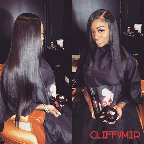 sew in hairstyles with side parts side part sew in hair pinterest hair style weave