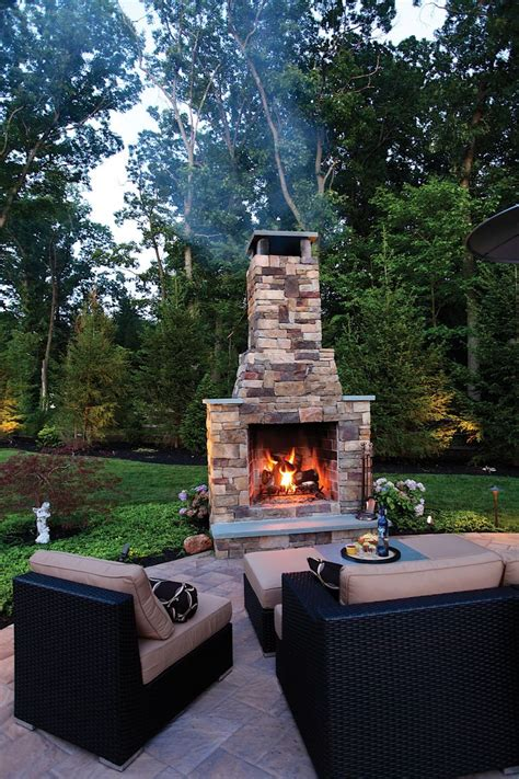 outdoor fireplace kits stunning outdoor fireplace kits 210 best places pits images on