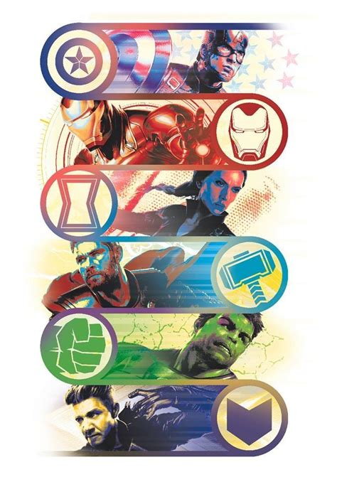avengers endgame promo art reveals