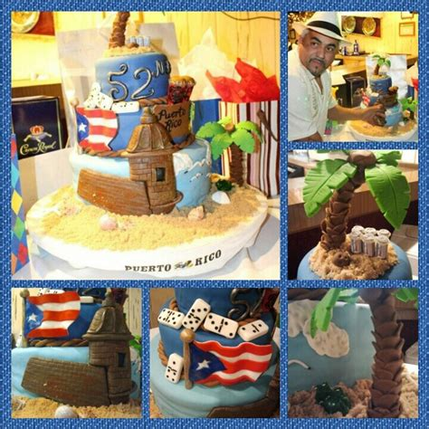 themed birthday cakes durban puerto rico themed cake for my fil things i have created