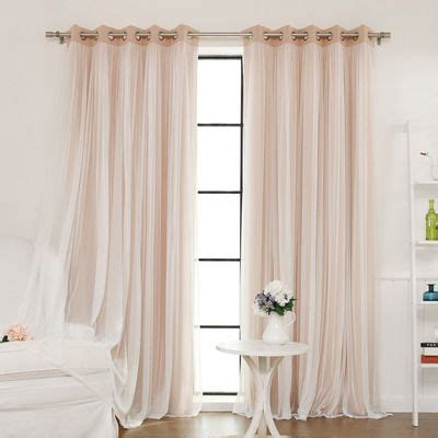 removable blackout curtains 1000 ideas about tulle curtains on pinterest ruffled