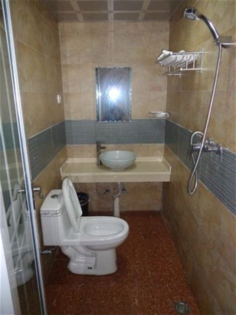 shower toilet and sink a clean standard chinese