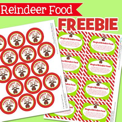printable reindeer food directions christmas play date advent day 15